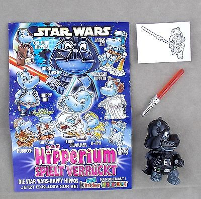 Dark Laser Black Edition mit BPZ und ZBA Star Wars Hipperium Ue Ei Figuren
