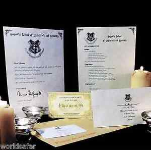 HARRY-POTTER-HOGWARTS-ACCEPTANCE-LETTER-PERSONALISED-GIFT-FREE-EXPRESS-TICKET