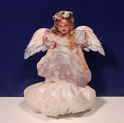 Bradford Exchange Sandra Kuck Heaven Sent Angel Ornament - Dreamy Days 2445