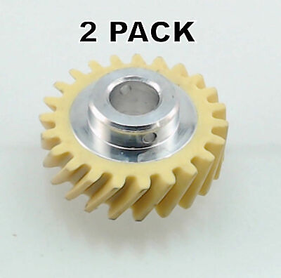 W10112253 2 Pk Stand Mixer Fiber Worm Gear for KitchenAid AP4295669