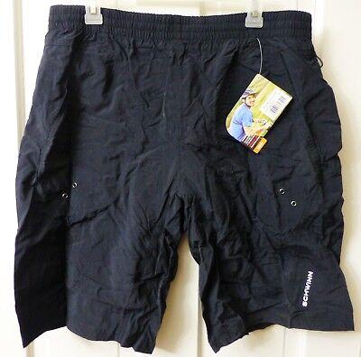 Schwinn Men's Mountain Bike Shorts, Large