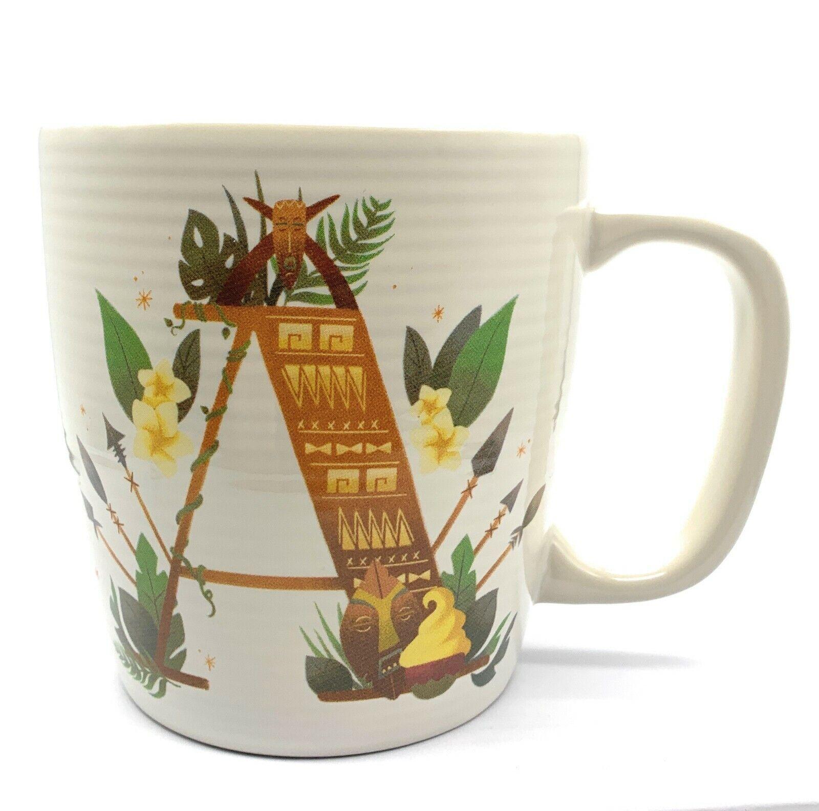 Disney Parks A Is For Adventureland Ceramic Coffee Mug Dole