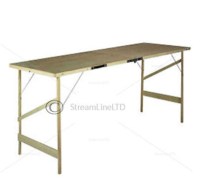 DURABLE CAR BOOT SALE PICNIC DECORATERS WALLPAPER PASTING FOLDABLE MOBILE TABLE