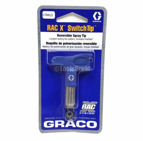 Graco Rac X SwitchTip  LTX413 Latex Paint Spray Tip 413