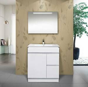 NEW ARRIVAL 75cm(750mm) WHITE Vanity -CKW75