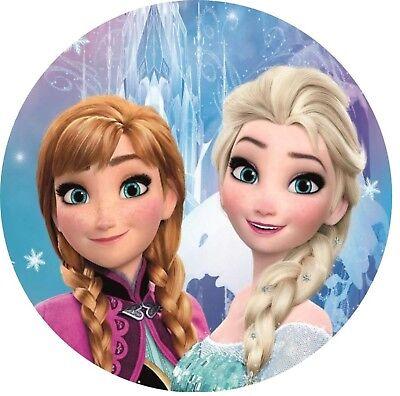 sa und Anna1---Geburtstag--Party----Fondant //Oblate (Anna Und Elsa)