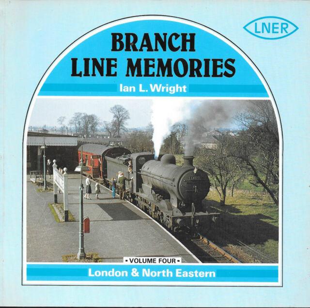 Branch Line Memories Vol.4 LONDON & NORTH EASTERN Atlantic Transport Paperback