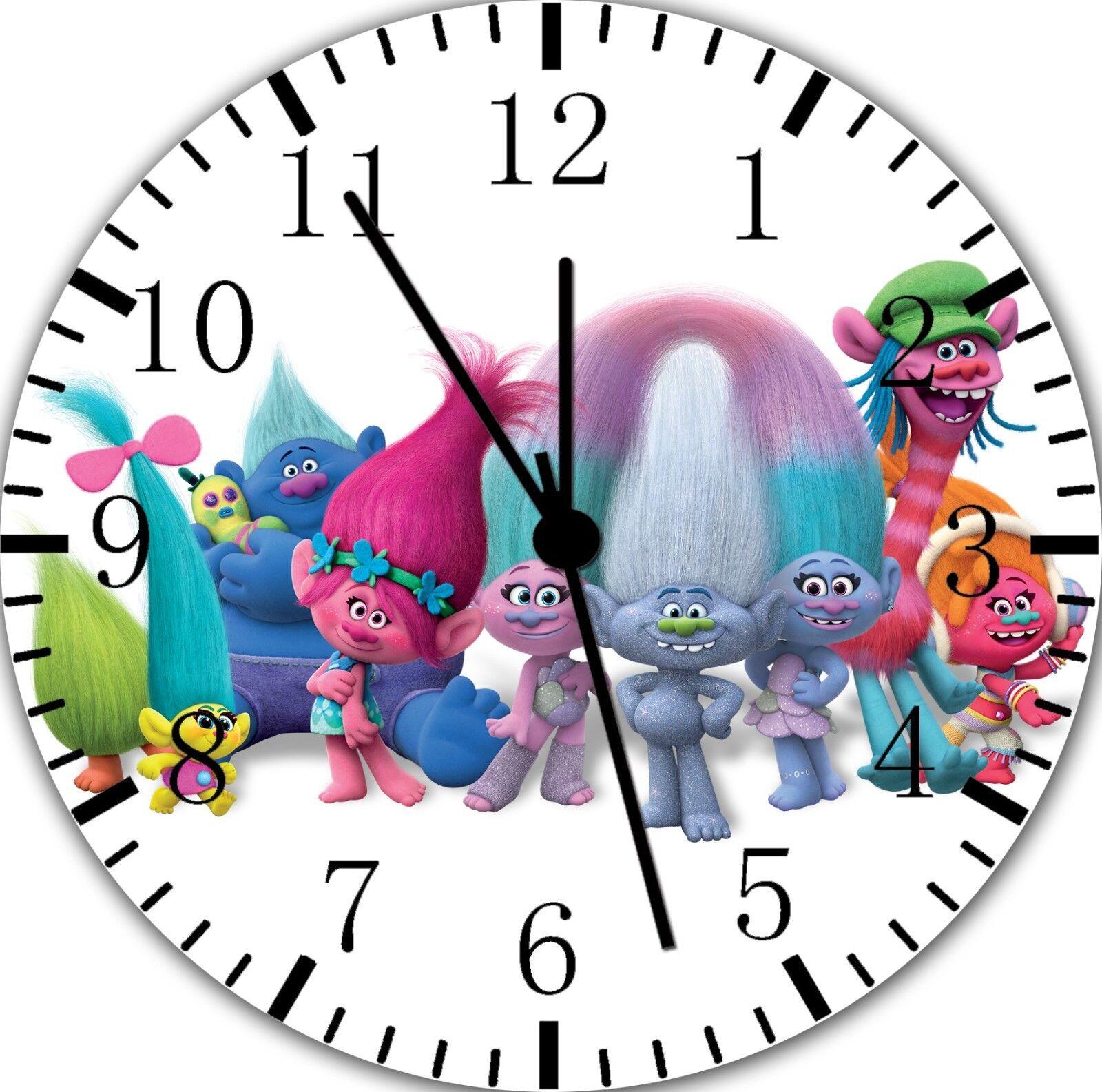 Trolls Frameless Borderless Wall Clock Nice For Gifts or Decor E235