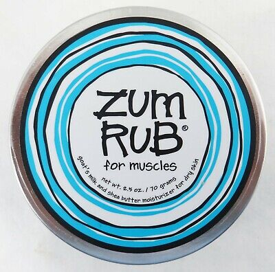 Indigo Wild Zum Rub For Muscles Menthol And Organic Extracts Soothe Sore (Organic Sore Muscle Rub)