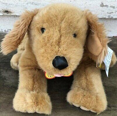 Build A Bear Offers (BUILD-A-BEAR Golden Retriever DOG Puppy Plush Stuffed Animal Collar)