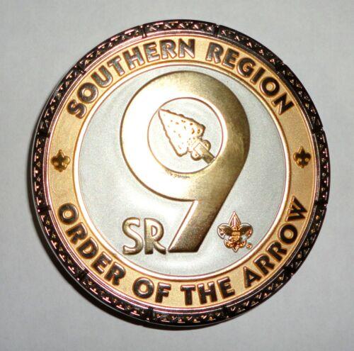 OA SR-9 Belt Buckle (Gold) - Alibamu Aracoma Coosa Egwa Tawa Dee Mowogo Ini-To
