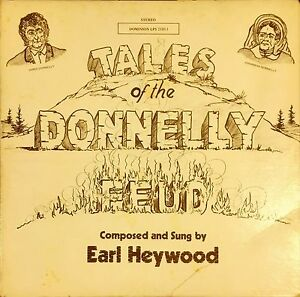 Tales of the Donnelly Feud Vinyl Record LP Black Donnellys