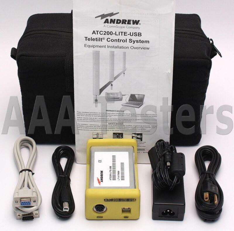 Andrew CommScope ATC200-LITE-USB TeleTilt Portable RET Controller ATC200