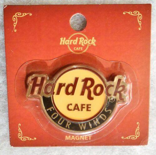 HARD ROCK CAFE FOUR WINDS CLASSIC LOGO MAGNET