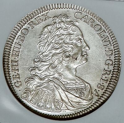 Click now to see the BUY IT NOW Price! AUSTRIA HALL CHARLES VI SILVER THALER 1736 NGC MS62