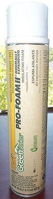 Osi Green Series Pro-foam Ii Minimally Expanding Insulating Foam 29 Oz Exp 2020