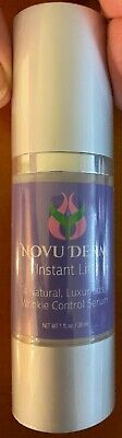 Novu Derm Instant Lift Wrinkle Control Serum, 1 oz. (30 ml), free -