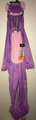 NEW girls PURPLE HIPPO HALLOWEEN COSTUME 1 pc size 4/5 pink trim WARM CUTE@@](Purple Hippo Halloween Costume)