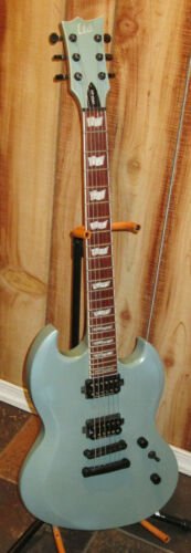 LTD Sage Green 401 Viper 6 String Electric Guitar