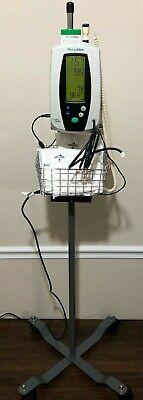 Welch Allyn Spot Series 420 42x Vital Signs Monitor Nibp Bp Temp Iv Stand