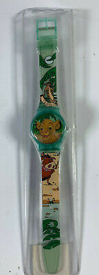 """Vintage Disney's The Lion King Watch Fantasma New in Package 9"""" Band"""