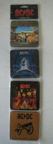 AC DC Coaster Set MIP Unopened Rock n Roll Hard to Find