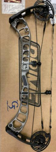 BRAND NEW G5 Prime Black 3 70# RH Boulder Gray / Black Hunting Bow 70lb
