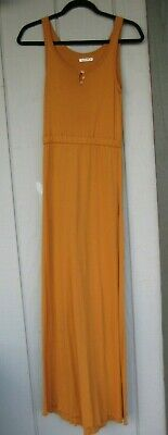Arbor apparel brand women's Tank Dress Rust color Maxi from REI size (Rei Womens Clothing)