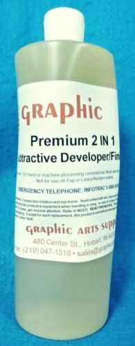 Graphic Premium 2 IN 1 Subtractive Developer / Finisher New