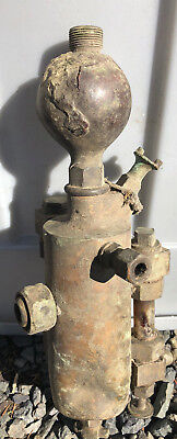 Antique Brass Steam Engine Oiler Locomotive Michigan Lubricator Co.