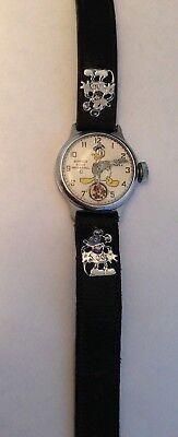 Donald Duck Wrist Watch 1930's - Rare