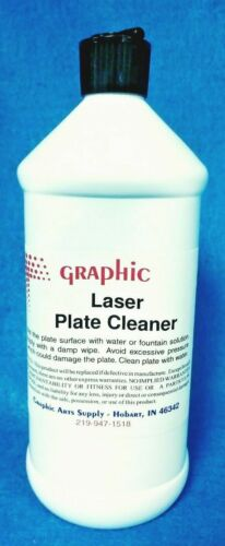 GRAPHIC LASER PLATE CLEANER NEW 1 QUART