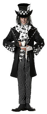 Dark Mad Hatter Alice In Wonderland Adult Men - Dark Mad Hatter