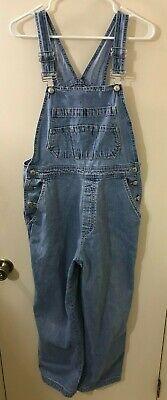 Vintage Overalls & Jumpsuits GAP BLUE JEANS Light Wash Bib Overalls Women's Size M  (30x28)  VGC ! $28.00 AT vintagedancer.com