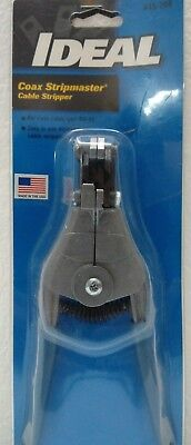 * Ideal - Coax Stripmaster Cable Stripper #45-266 - NEW Ideal Coax Cable Stripper