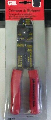Gardner Bender Gb Gs-67 Terminal Crimping And Stripping Tool Kit 10 To 22 Awg