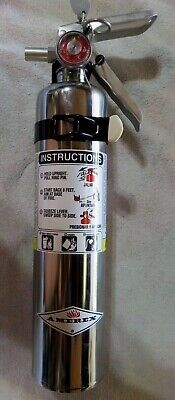 2 12 Lb. Amerex Chrome Bc Fire Extinguisher New 2020 Certified In Box
