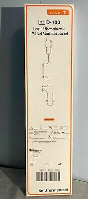 Smiths Medical Level 1 Normothermic Iv Fluid Administration Set Ref D-70
