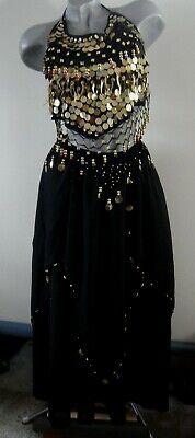 Orient Indien Kostüm Kamiz Salwar Gr Lila Bestickt Tunika Hose Tuch 3-tlg S