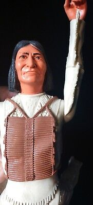 Vintage Marx -Johnny West- Best Of The West -Geronimo Chief BREAST