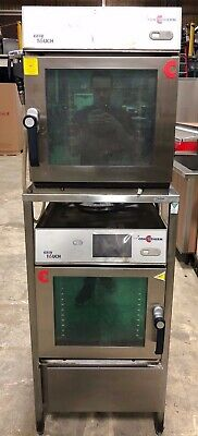 2015 Cleveland Double Convotherm Model Oes 6.10 Mini Combi Ovens W Rack Nice