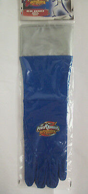 Power Rangers Operation Overdrive 1 Pair of Blue Gloves Costume COSPLAY NEW](Power Couple Costumes)