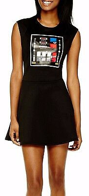 Star Wars Darth Vader Women's Skater Dress Costume - Juniors M L XL - New - Darth Vader Costume For Women