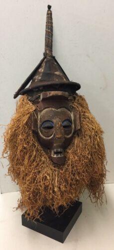 Antique African Yaka Intiation Mask