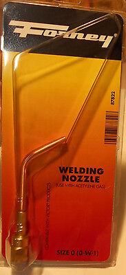 Victor Style Oxygen Acetylene Welding Nozzle Forney 0 0-w-1