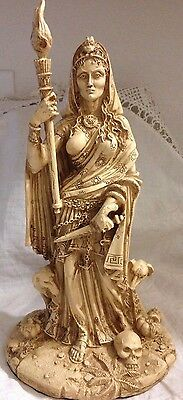 Hecate Goddess of Witchcraft and Magic Statue Altar  Wiccan Pagan Metaphysical