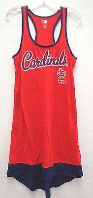 St Louis Cardinals Apparel - St. Louis Cardinals Women's M G-III 4her Backshot Cover-up Jersey Dress