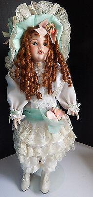 "LIMITED EDITION 23 of 1000 COLLECTION 1995 ""EATON BEAUTY"" PORCELAIN DOLL DYNASTY"