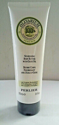 Perlier Olivarium Body Butter With Organic Olive Oil 8.4 oz Tube Fresh & Sealed Perlier Olive Oil
