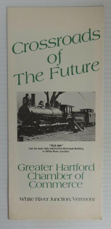 1975 HARTFORD VERMONT CROSSROADS OF THE FUTURE TOURIST BROCHURE     (INV32605)